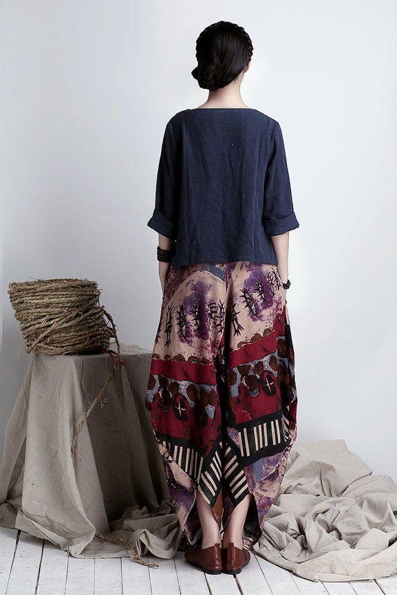 Colorful vêtements Harem PantsHippie lâches par TDJasmine