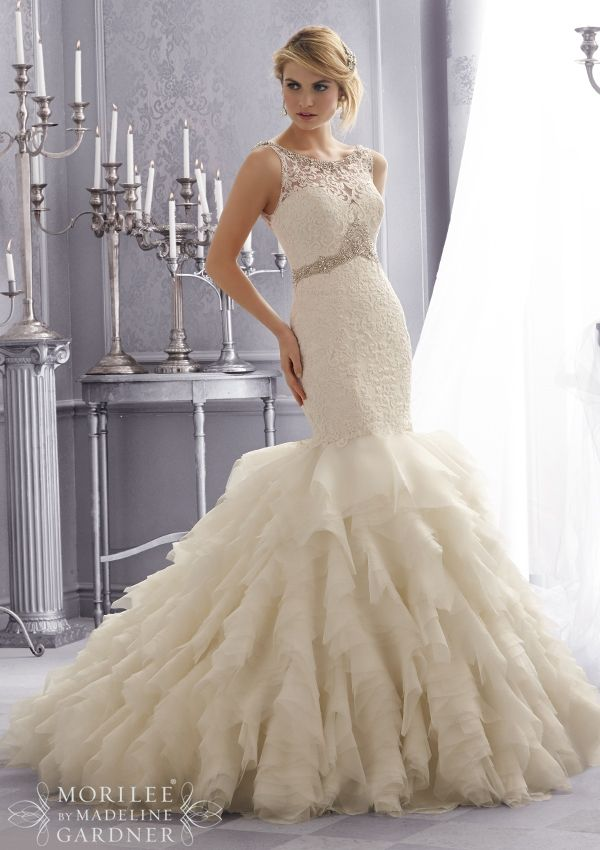bridal gown from Mori Lee by Madeline Gardner Dress Style 2673 ...