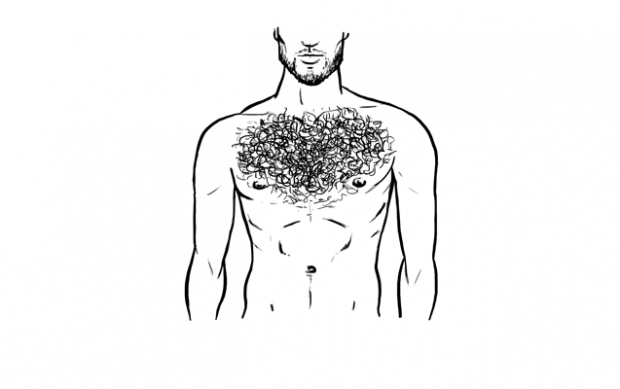 Top Five Chest Hair Styles Manscaping Chest Hair Styles Wild Hair