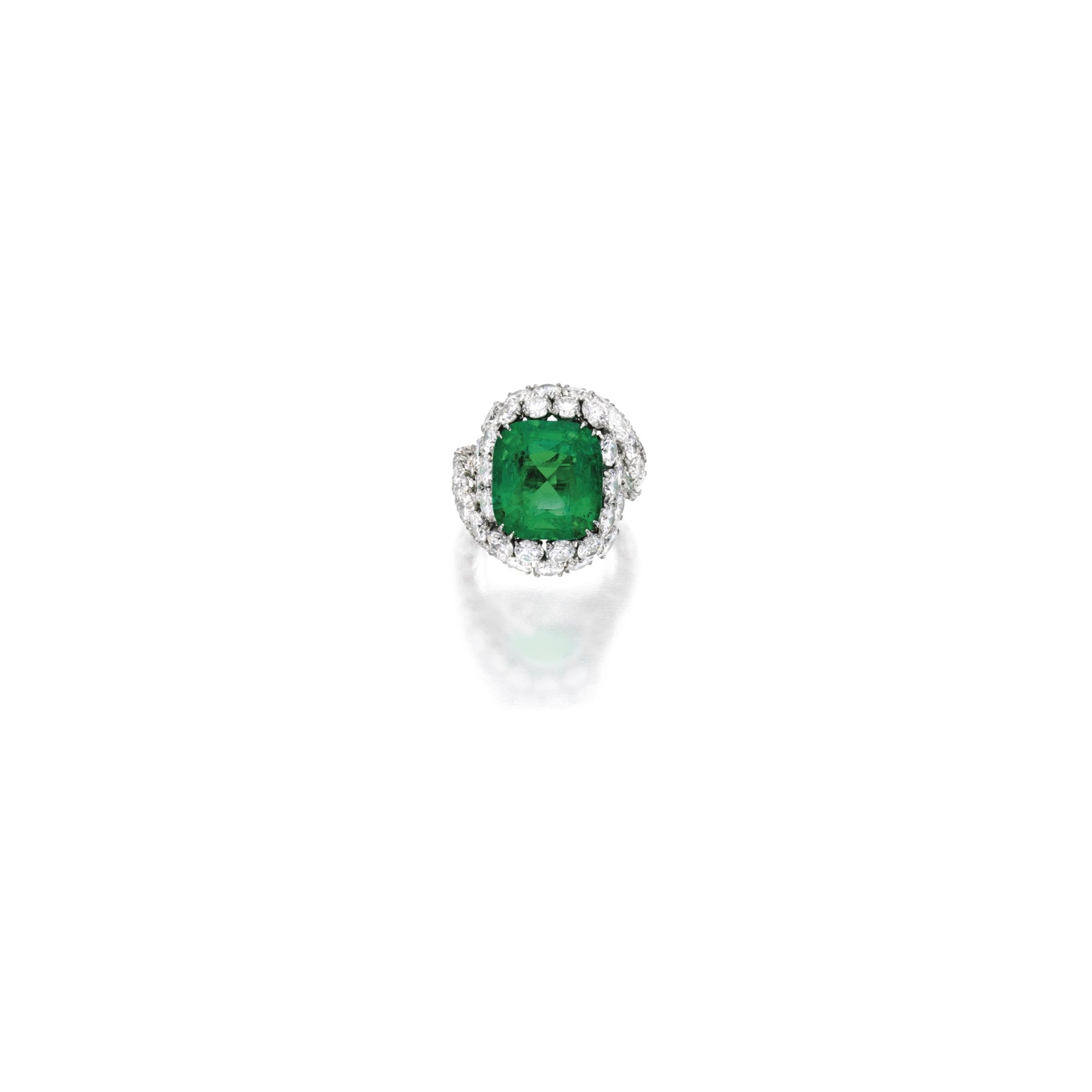 print cgtrader rings ring obj emerald cut models cushion jewelry with stl sapphire model