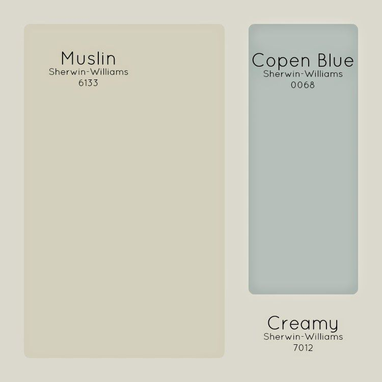 Our Paint Colors Sherwin Williams