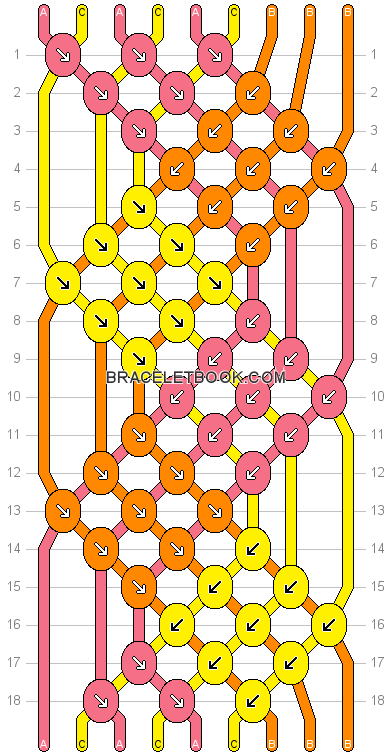 #friendship #tutorials #patterns #diamonds #bracelet #pattern #hollow #14709- #number #visit #more #for #and #our #webHollow diamonds friendship bracelet pattern number For more patterns and tutorials visit our web or the app! #easyfriendshipbraceletpatterns