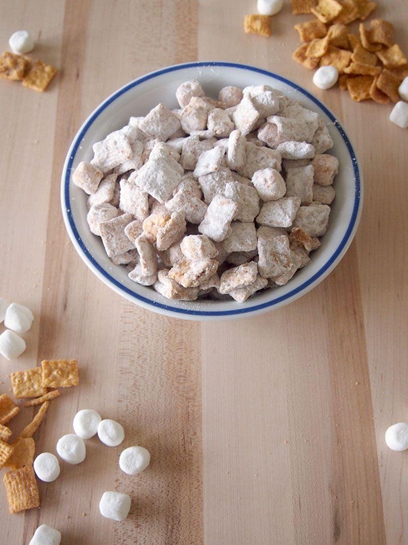 Fluffernutter Puppy Chow Recipe Snack mix, Puppy chow
