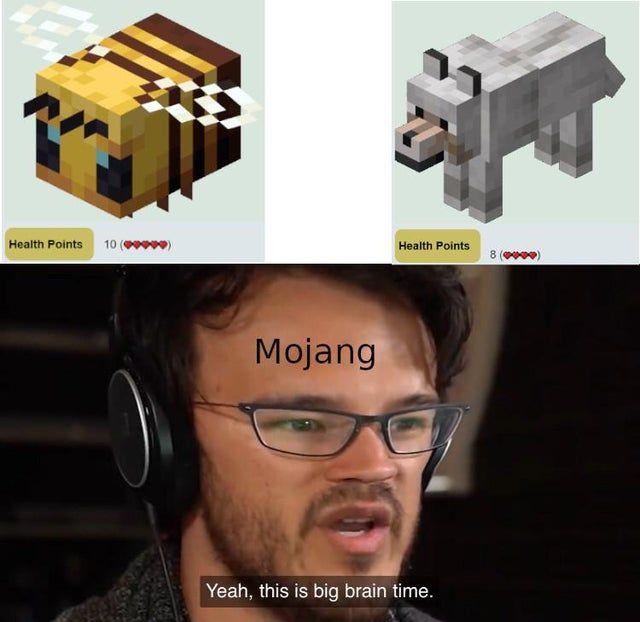 Health Points Are So Balanced Minecraftmemes Minecraft Funny Minecraft Memes Really Funny Memes