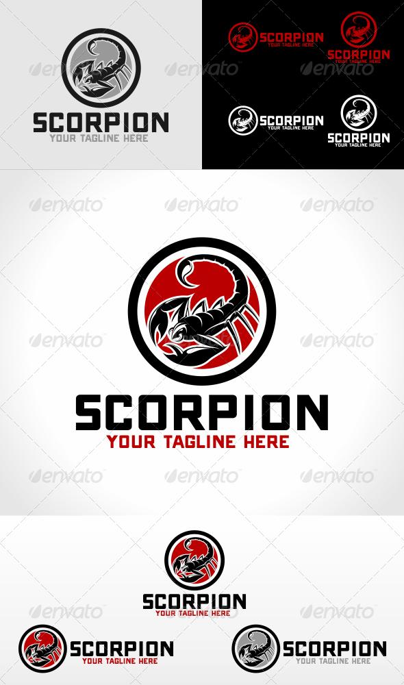 Scorpion Logo Template Logo Templates Pet Logo Design Logo Design Template