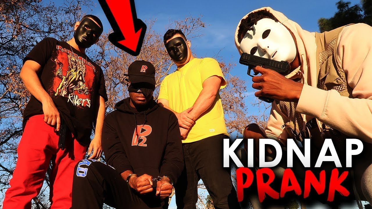 I kidnapped a famous YouTuber (P2istheName) Prank *FIGHT