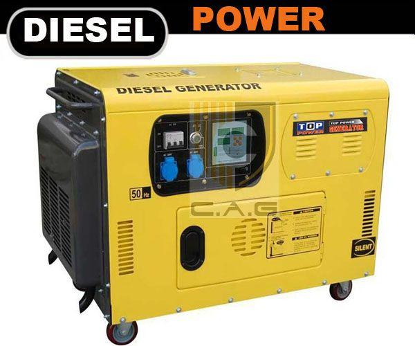 10kva Silent Diesel Generator Cag Engines Diesel Generators Diesel Generation