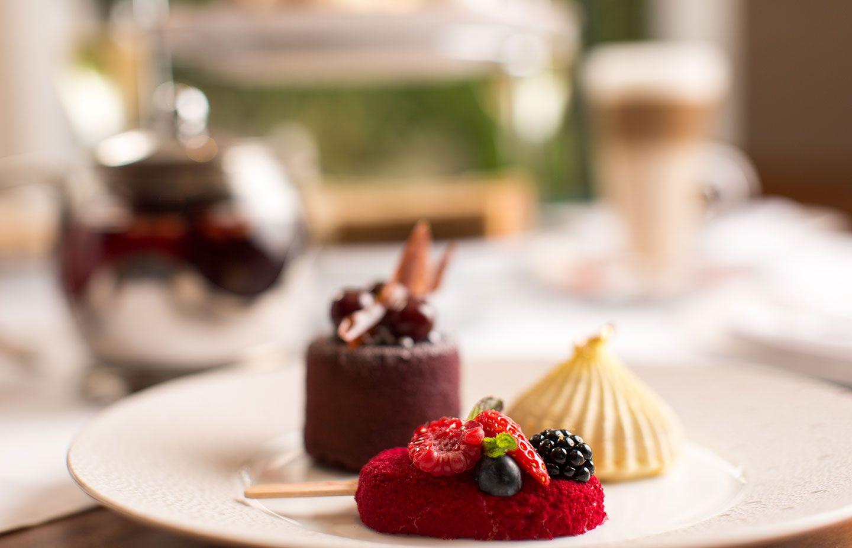 Gariguette Strawberry & Mint Ice Lolly, Pina Colada Delice, Black Cherry & Chocolate Delight.