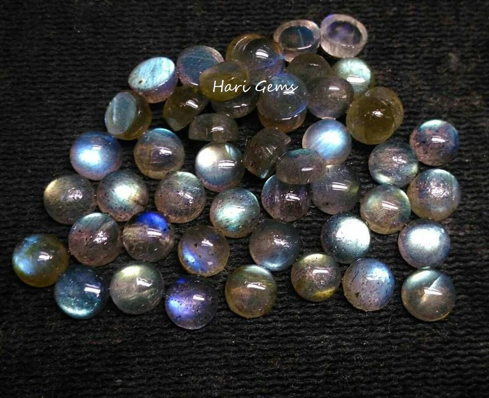 Wholesale Lot of 8mm Round Cabochon Natural Moonstone Loose Calibrated Gemstone