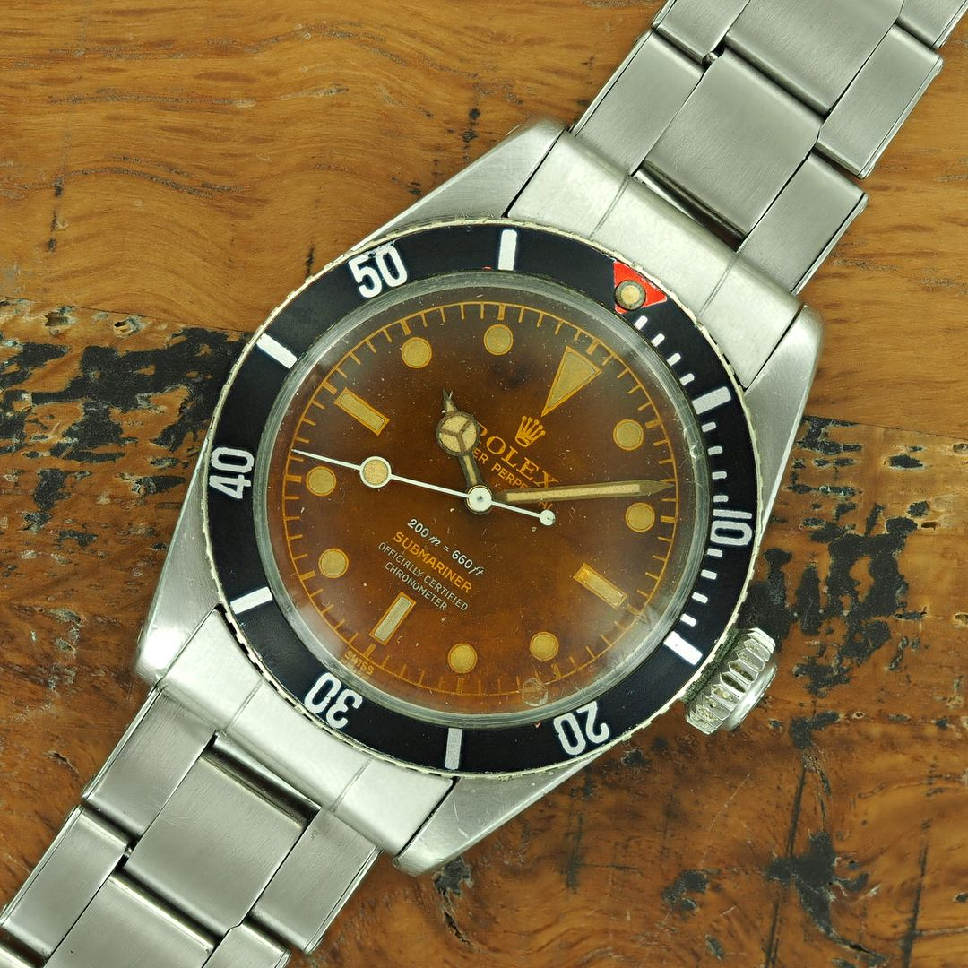 For Sale From Alexcianivintage Is This 4 Liner Big Crown Rolex Submariner Ref 6538 Check It All Out Online At Rolexp Rolex Submariner Rolex Vintage Watches
