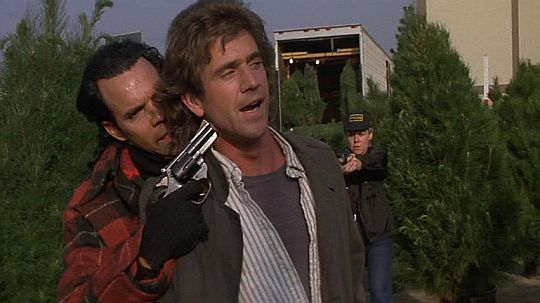 leathal weapon - This altercation at a Christmas Tree lot is the ...