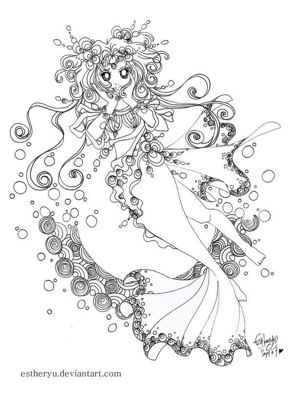 estheryu mini color contest 3 by estheryu - Halloween Coloring Contest 3