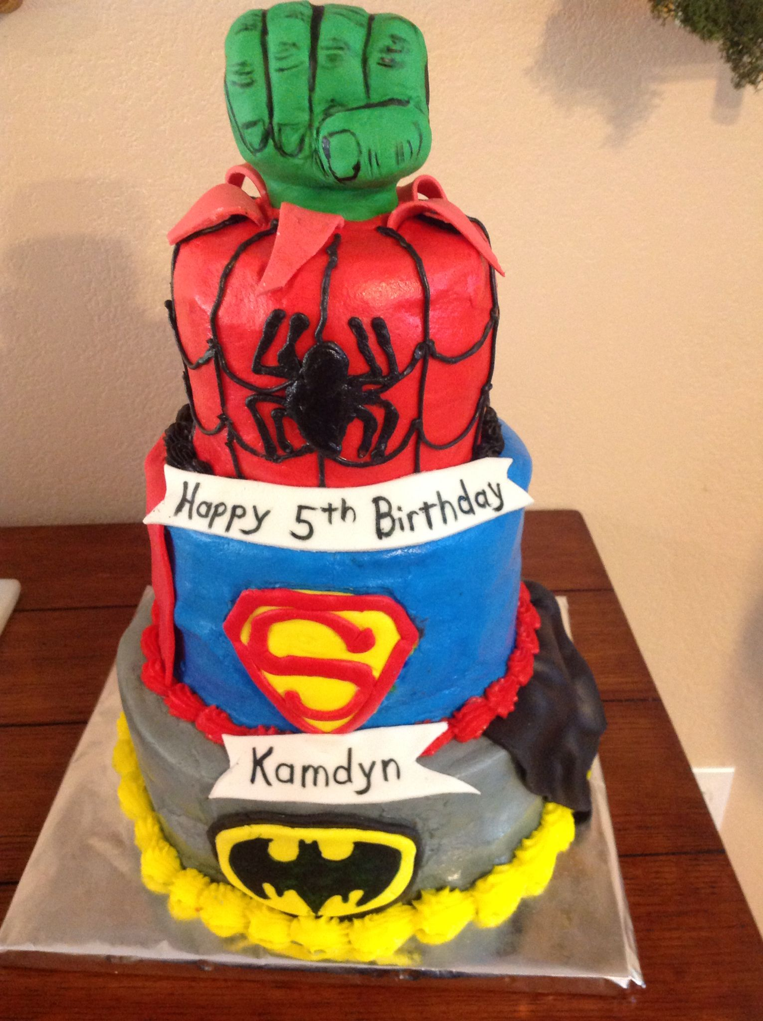 Marvel Heroes Cake Cakes I Made Pinterest