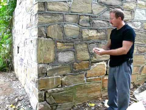 How To Repoint Masonry Joints Building A Stone Wall Brick Cladding Masonry