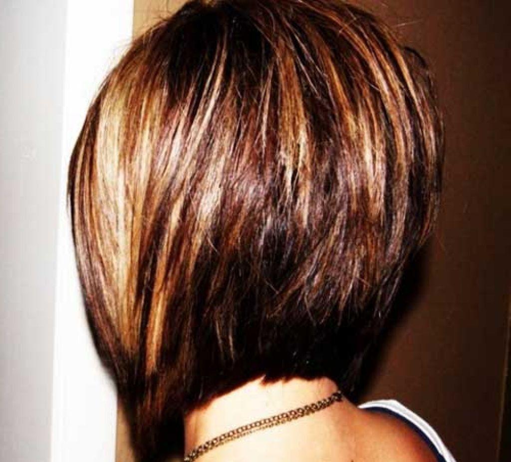 Long Stacked Bob Haircut Back View Wallpaper Hair Pinterest