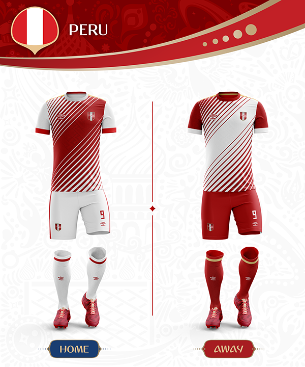 Russia World Cup 2018 On Behance Russia World Cup Soccer Uniforms Design Sports Jersey Design