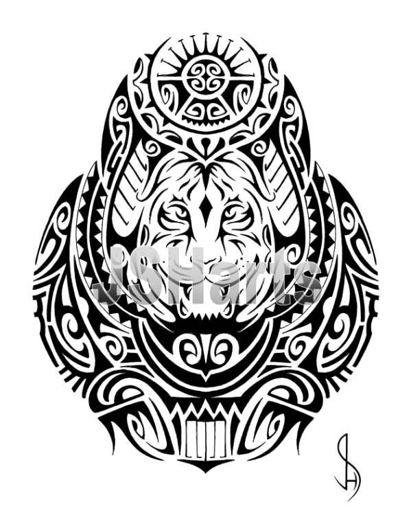 Tiger Tattoo Stencils Free