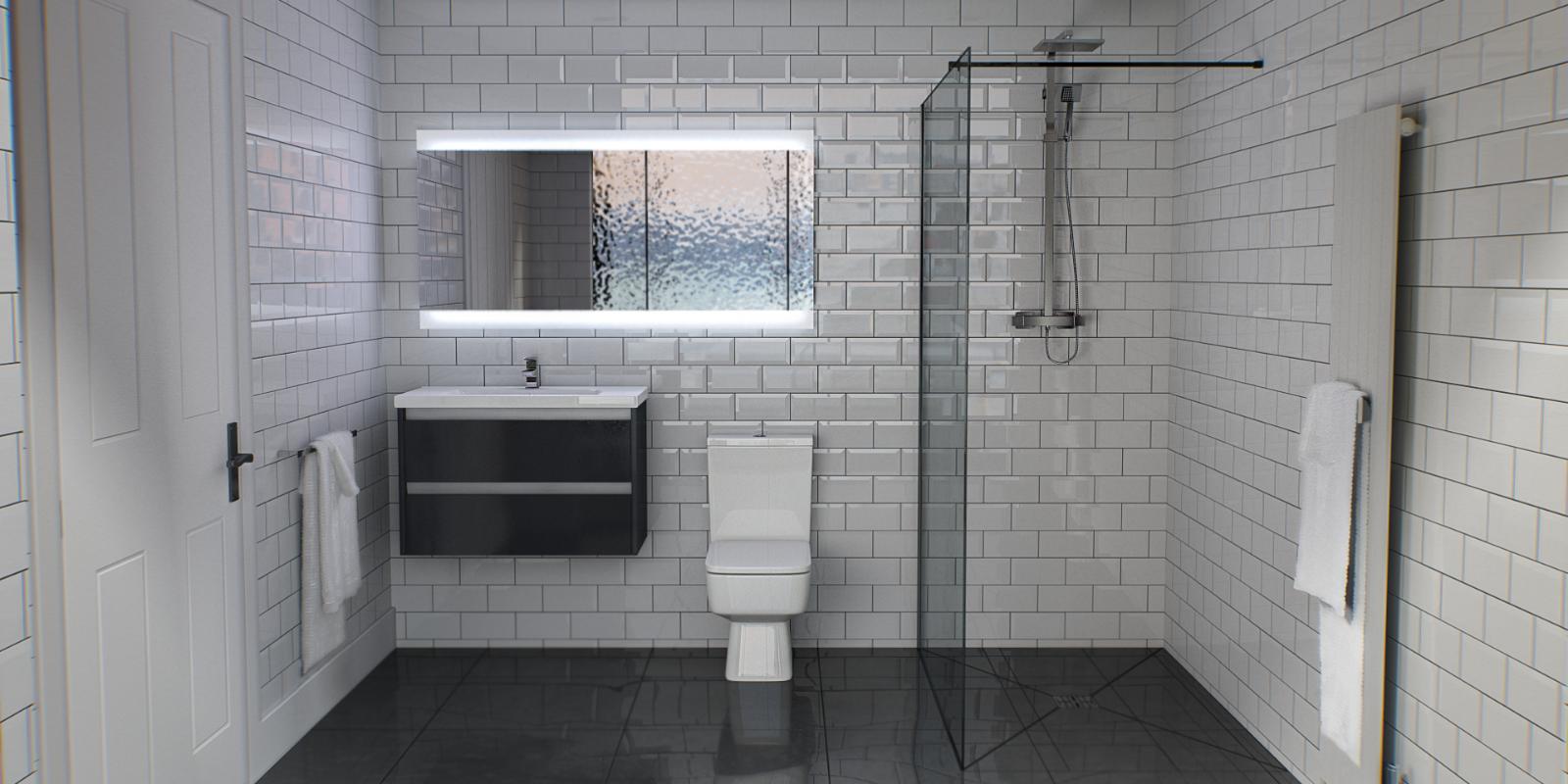 Trending Monochrome Bathrooms Wholesaledomesticbathrooms