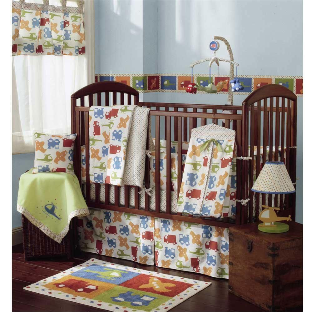 Baby Monster Crib Bedding Set Blankets And More At