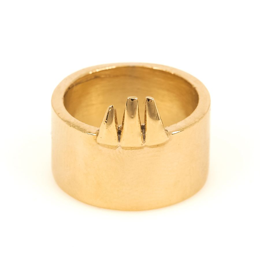 Clawed Tube Ring | Bones & Feathers