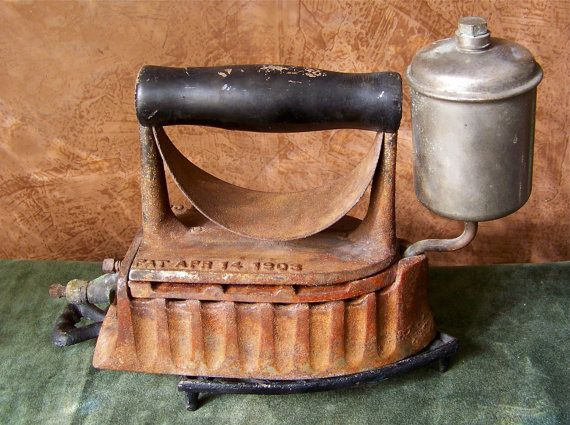 clothes iron the monitor 1903 by cynthiasattic on etsy vintage laundry room. Black Bedroom Furniture Sets. Home Design Ideas