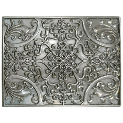 Decorative Tile Accents Soci Tile Ssgp1377 Arabella Plaque Pewterkitchen Backsplash