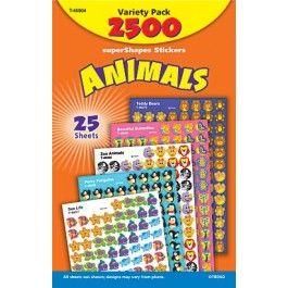 TREND Animals superShapes reward Stickers
