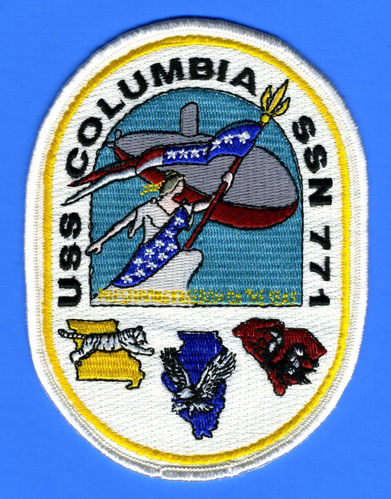 USS ''Columbia'' SSN77( Los AngelesClass Attack
