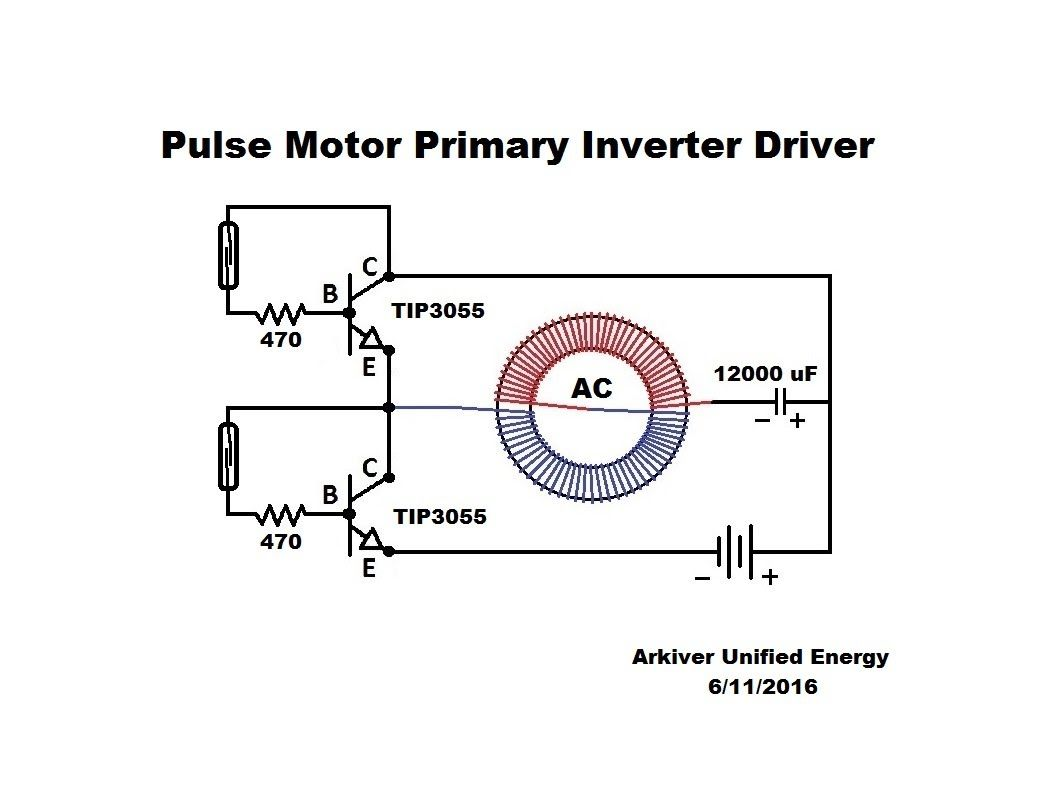 Toroid Pulse Motor Primary Inverter Driver Youtube Free Energy On After Delay With Mosfet Electronic Projects Circuits Diy Crisis Electrical