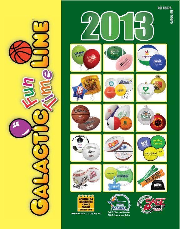Galactic Fun Line 2013 Catalog from Galactic Fun Time Line