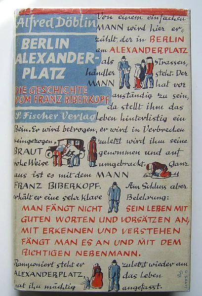 Cover Alfred Doblin Berlin Alexanderplatz Berlin Kunst Berlin Literatur