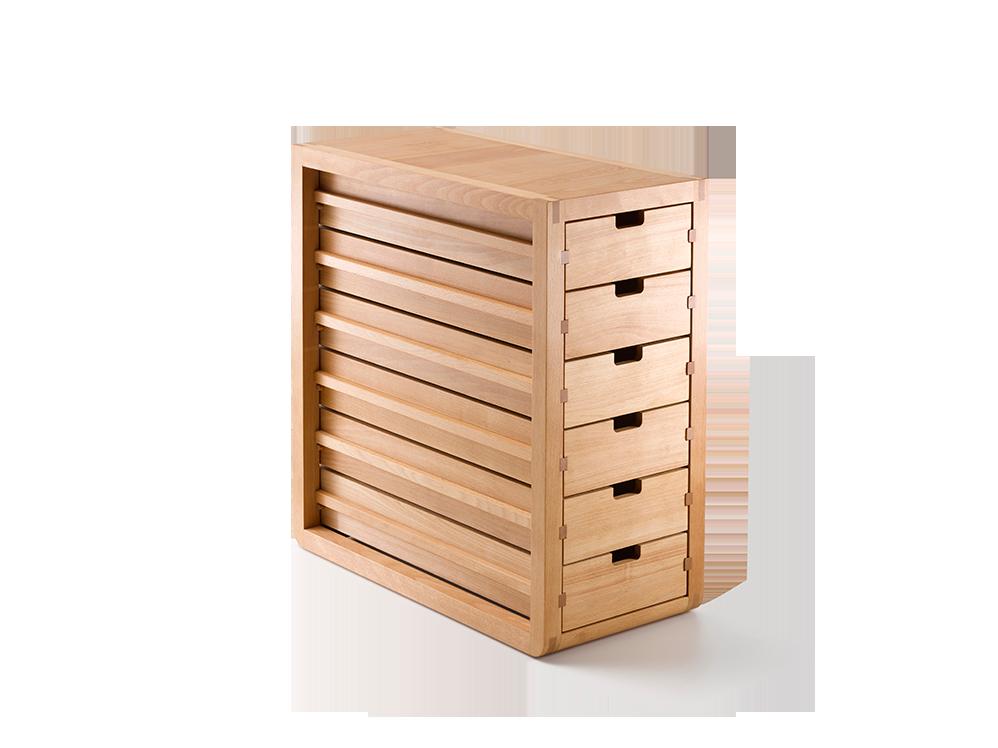 Ladenschrank Quint Inkl 6 Laden Buche Holzplatten Mobel Mobel Buromobel