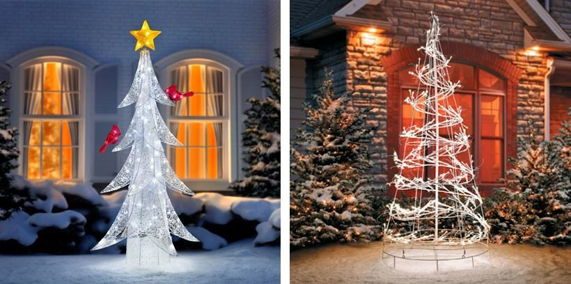 Winter Wonderland Outdoor Christmas Decoration Ideas Christmas