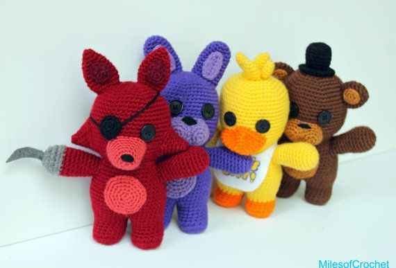 Geek Amigurumi Pattern : Geek chic amigurumi patterns toys by outlawheartcreations