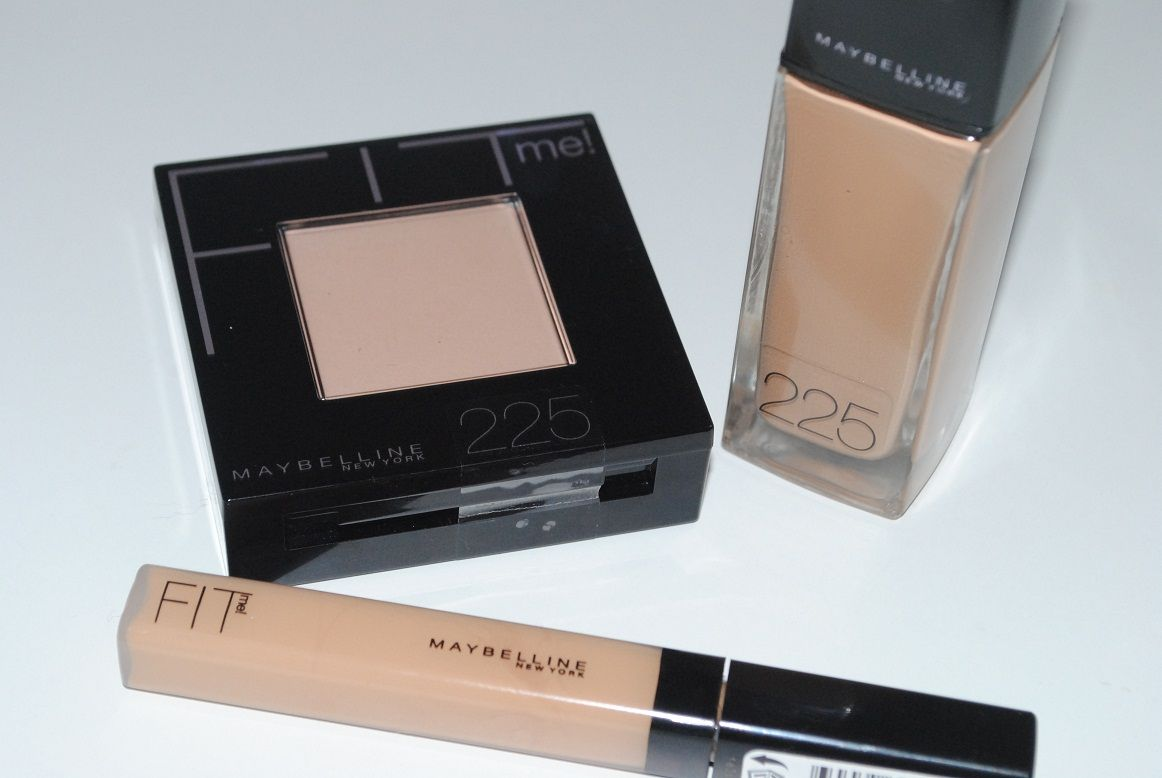 Maybelline fit me foundation review with before and after