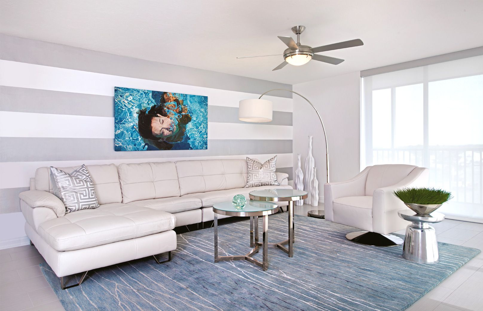 Fendi Residence  Rglobe  Miami Architecture And Villas Magnificent Living Room Miami Inspiration