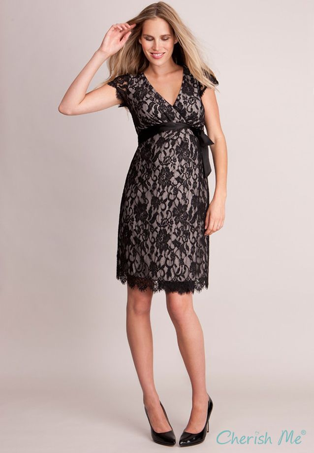 c11573fce3fdd Seraphine Freya Maternity Dress - Black Lace | maternity & nursing ...