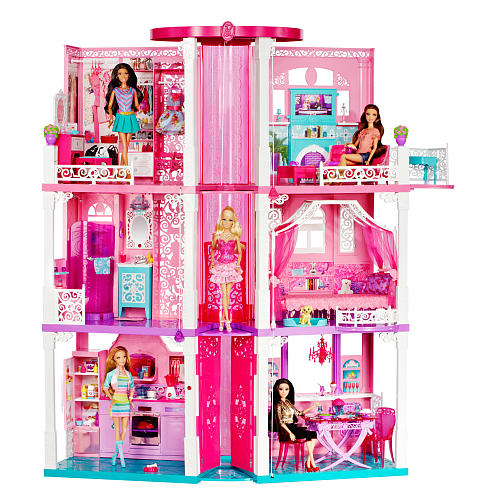 barbie dream home