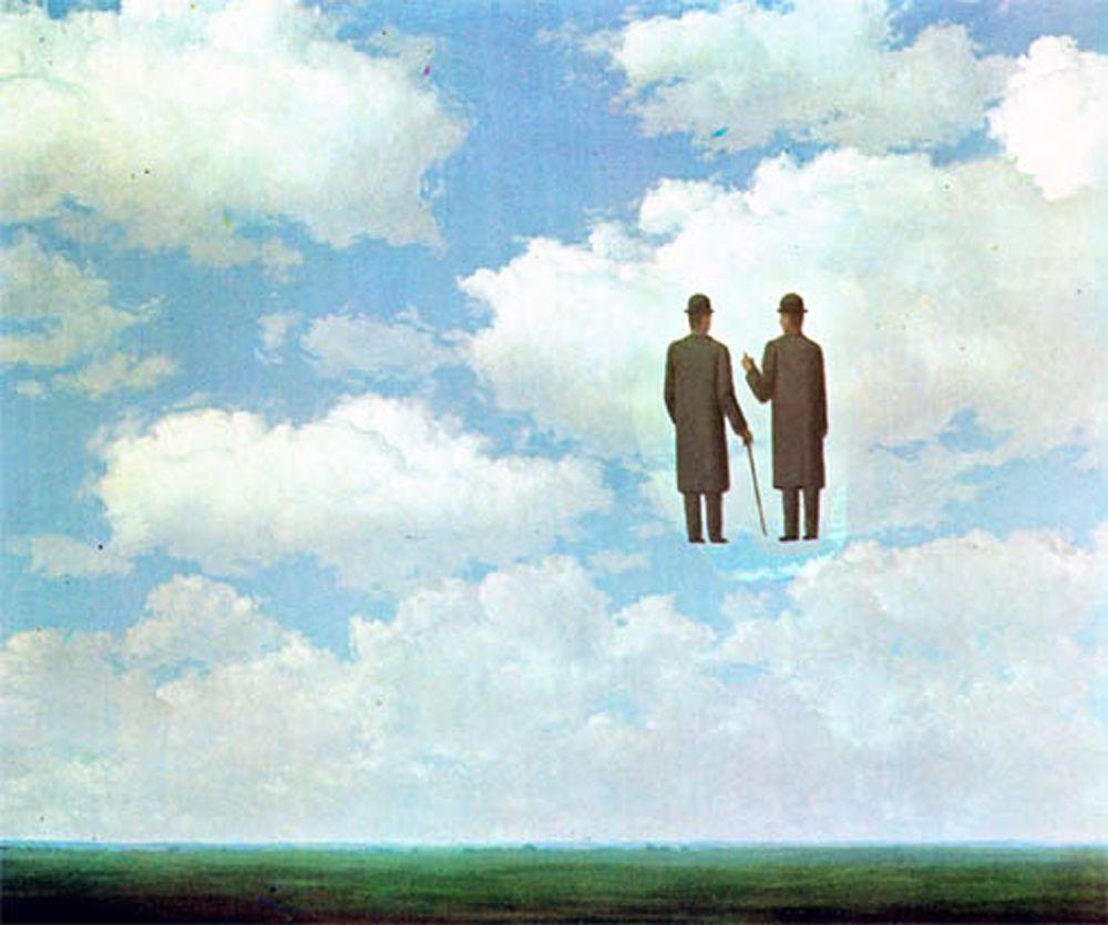 Rene Magritte Infinite Gratitude ルネ マグリット マグリット シュルレアリスムアート