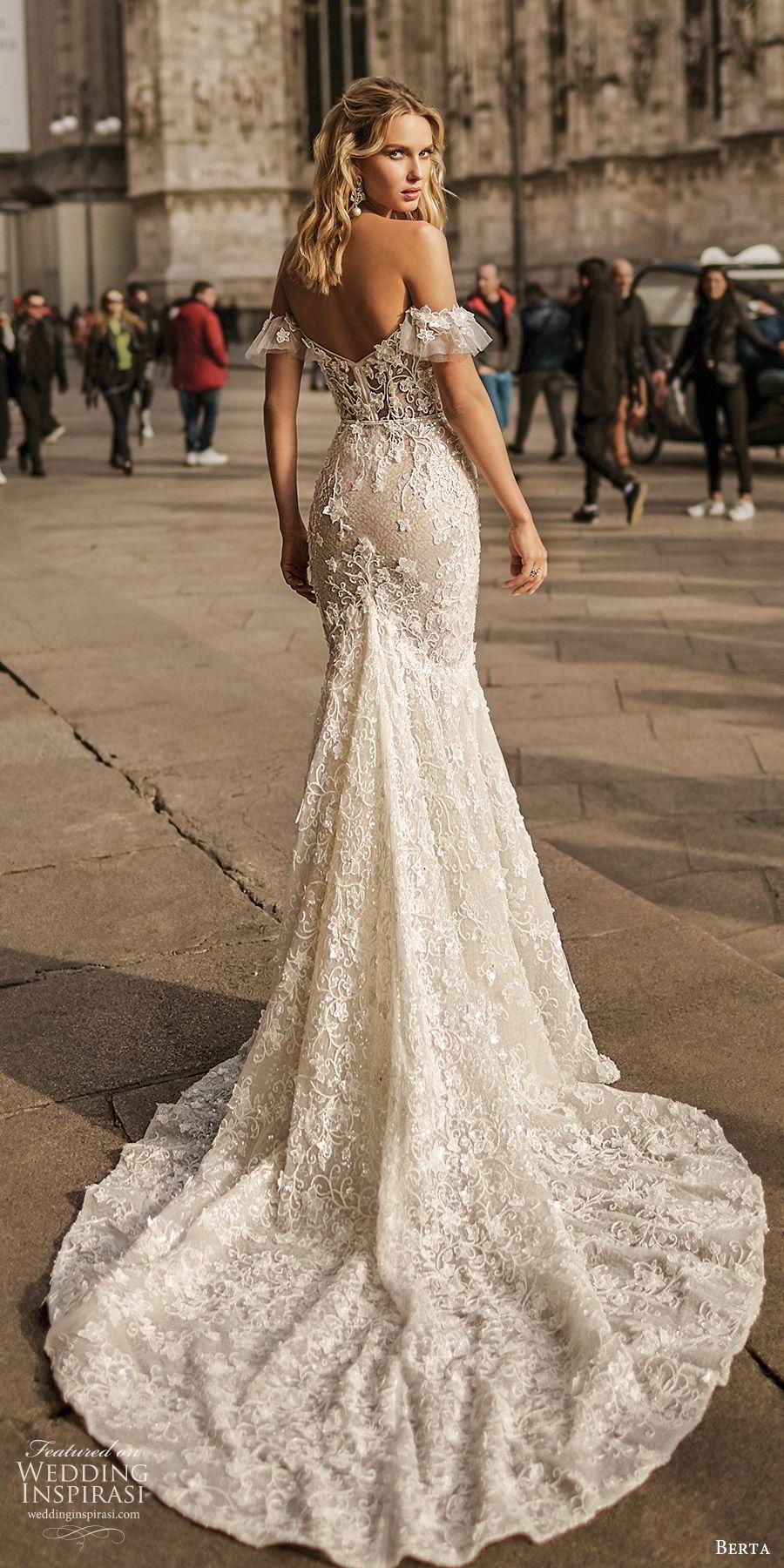 "Berta Spring 2020 Wedding Dresses — ""Milano"" Bridal Collection #bertaweddingdress"
