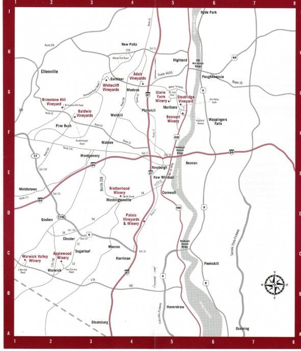 shawangunk wine trail map | Shawangunk Wine Trail Map ... on minnewaska trail map, catskill trails map, monticello trails map, appalachian ridge and valley in new jersey map, hillside trails map, auburn trails map, sam's point trail map, mohonk preserve map, southampton trails map,
