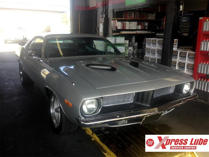 This classic muscle car came in to the First Street shop