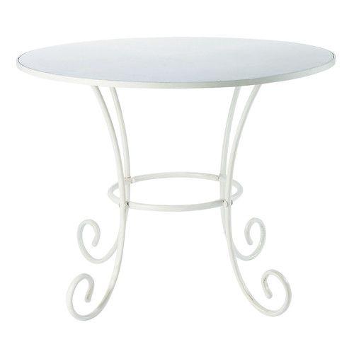 Coin repas | KATIA DIVINE | Garden table, Table et Wrought iron
