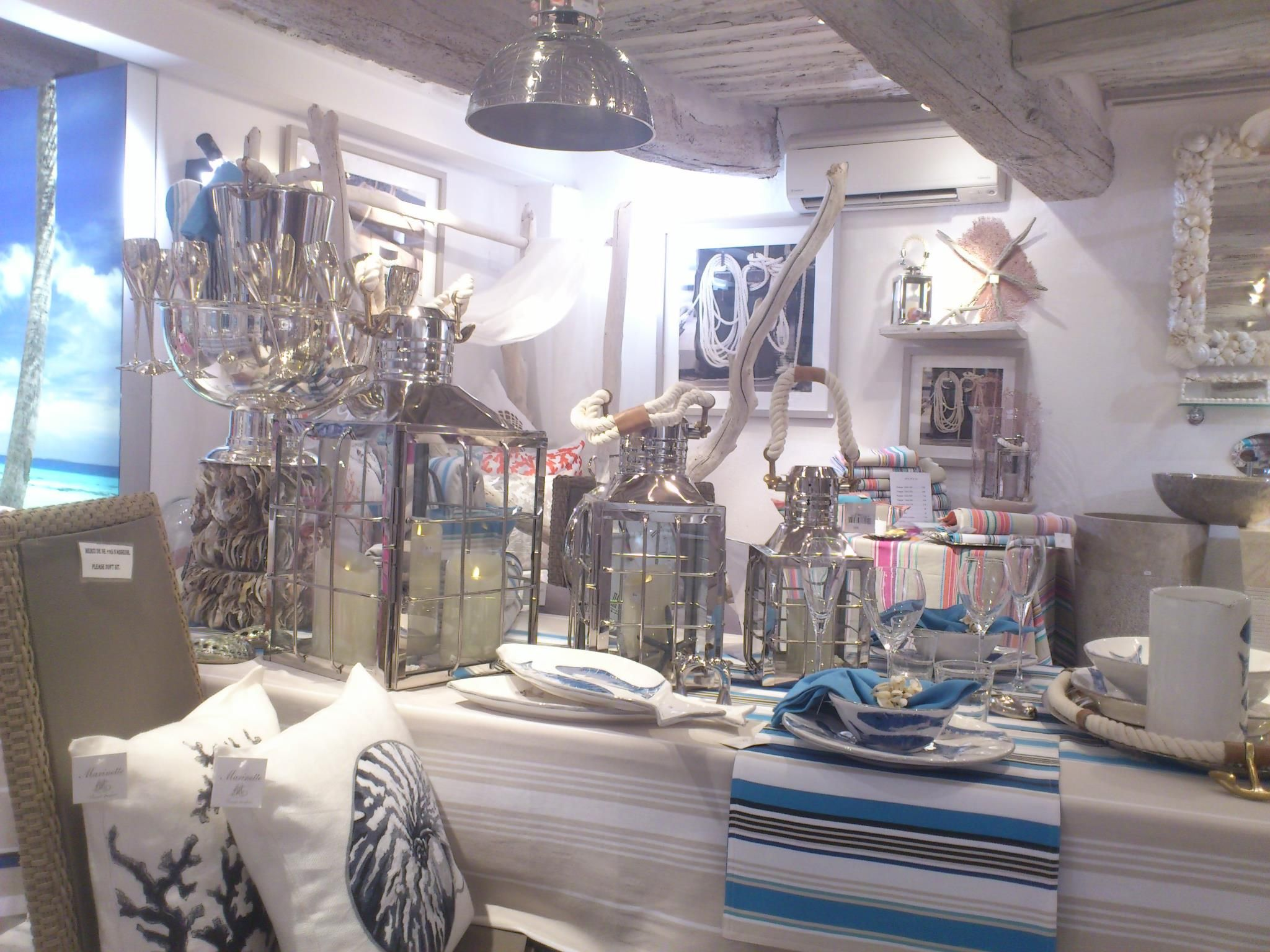 tissus marinette saint tropez desideri table. Black Bedroom Furniture Sets. Home Design Ideas