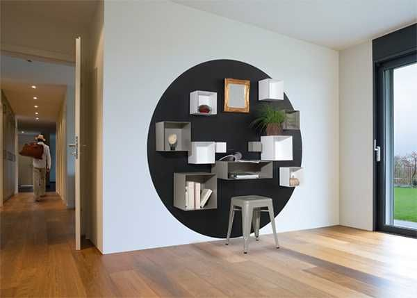 Wall Shelves Magnetic Spirit Introduce Innovative Modular Shelving ...