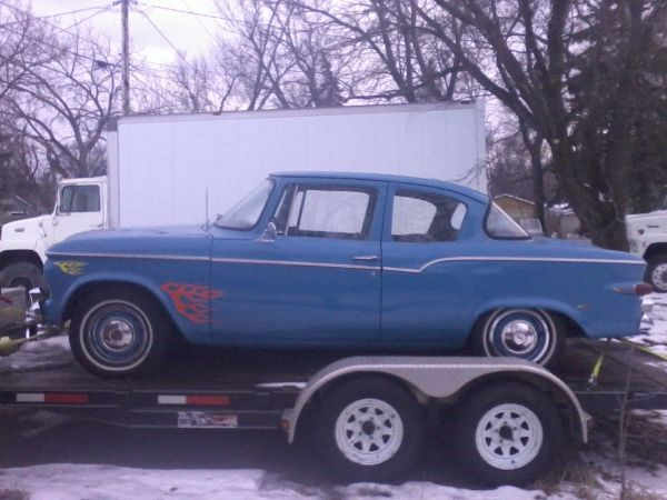 Restored 1959 Studebaker Lark 2 Door For Sale Or Trade !! Nice Car