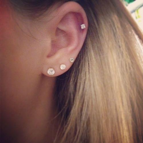 ear piercings tumblr - Google Search | Jewelry | Pinterest ... Ear Piercing Tumblr