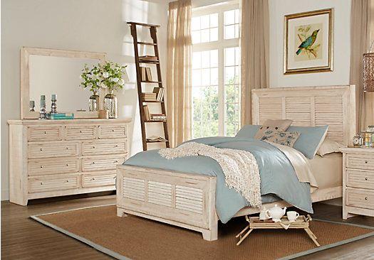 Sag Harbor White 5 Pc King Bedroom  $1,18800 Find affordable King