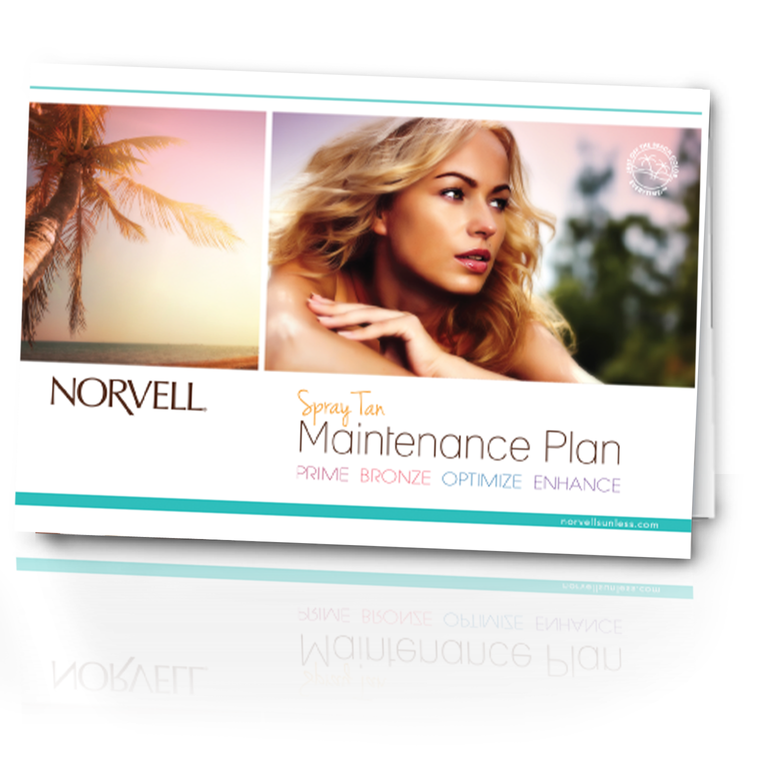 Norvell Sunless Preparation and Maintenance Cards (50