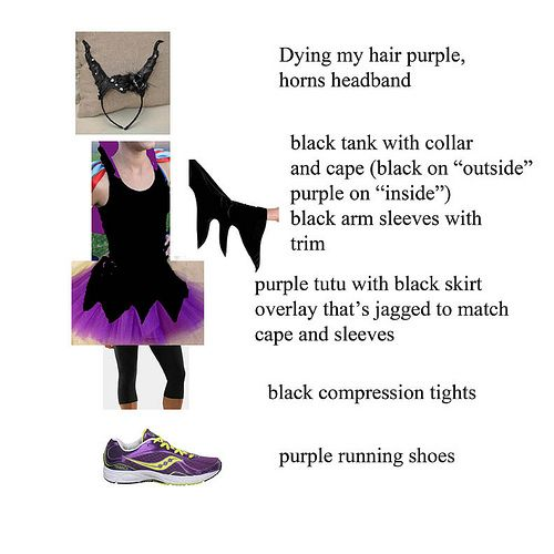 Maleficent Running Costume Maleficent Running Costume By